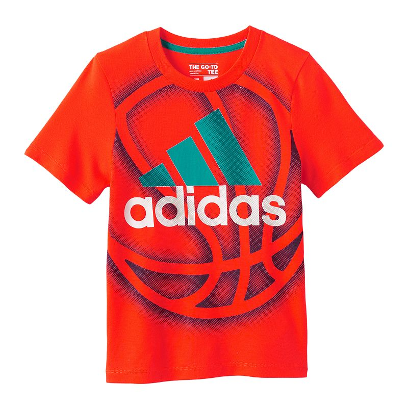 Boys 4-7x adidas Basketball Graphic Tee