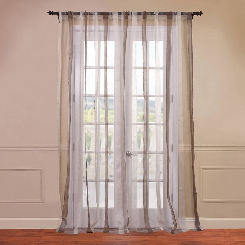 EFF Signature Havannah Striped Sheer Curtain
