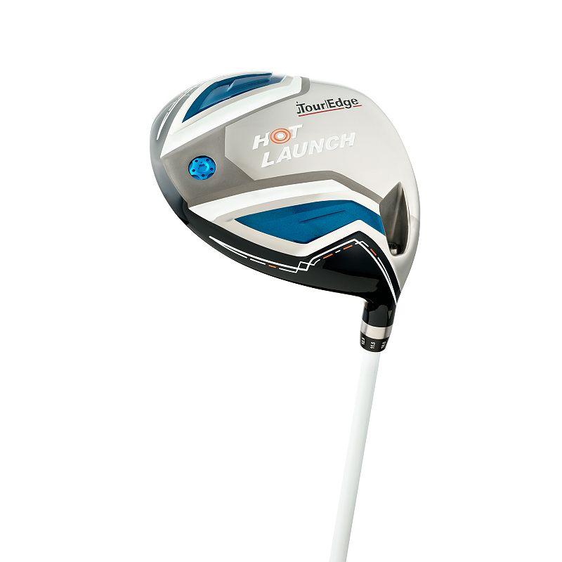 Senior Tour Edge Golf Hot Launch Right Hand Draw Driver, Silver