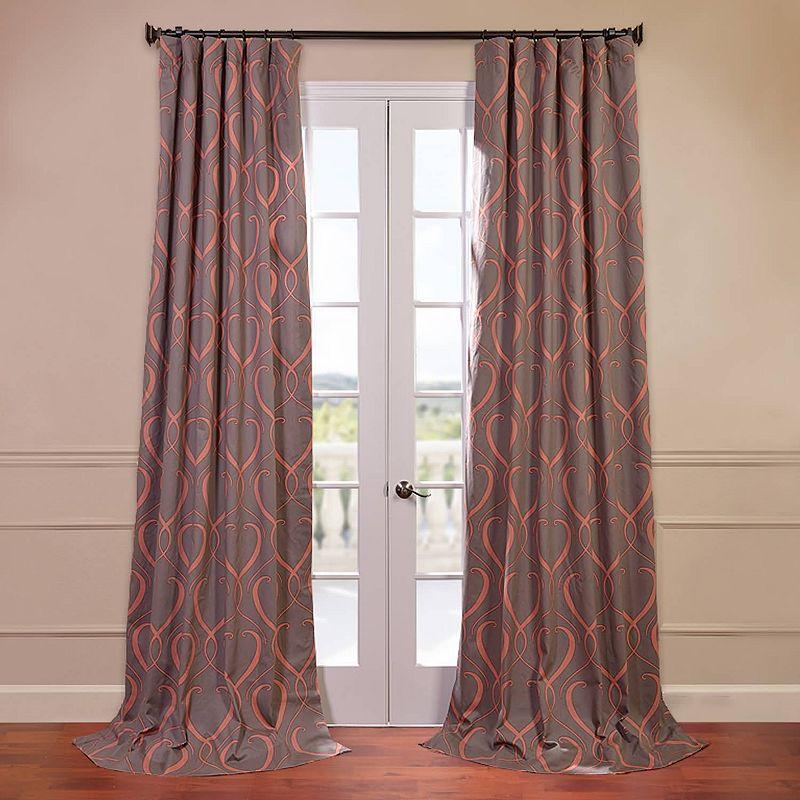 Cotton Print Curtain Kohls