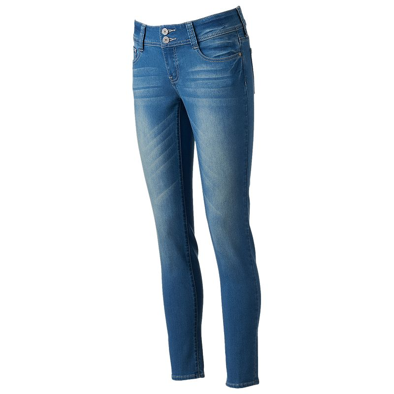 Juniors' Rampage Denim Skinny Jeans