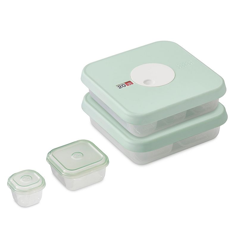 Joseph Joseph Dial Storage 15-piece Stage 1 & 2 Baby Food Container Set