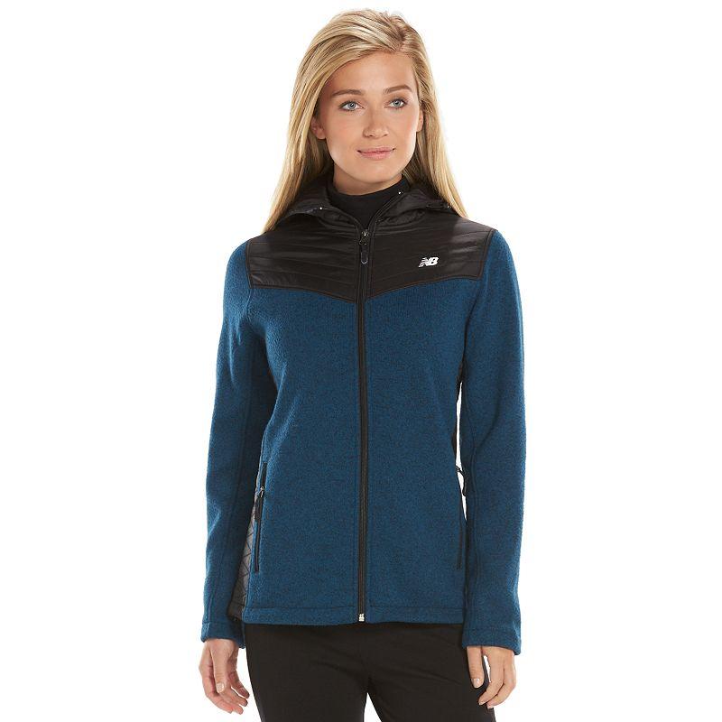 Women's New Balance Sweater Fleece Full-Zip Hoodie