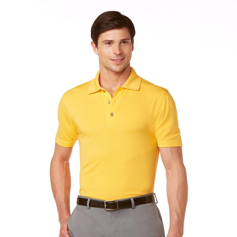 Men's Grand Slam Ottoman Slim-Fit Solid Polo