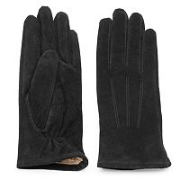Women's Igloos Faux-Fur Suede Gloves