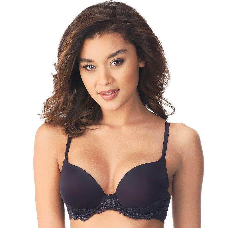 Lily of France Bra: Sensational Lace Push-Up Bra 2175220 - Women's