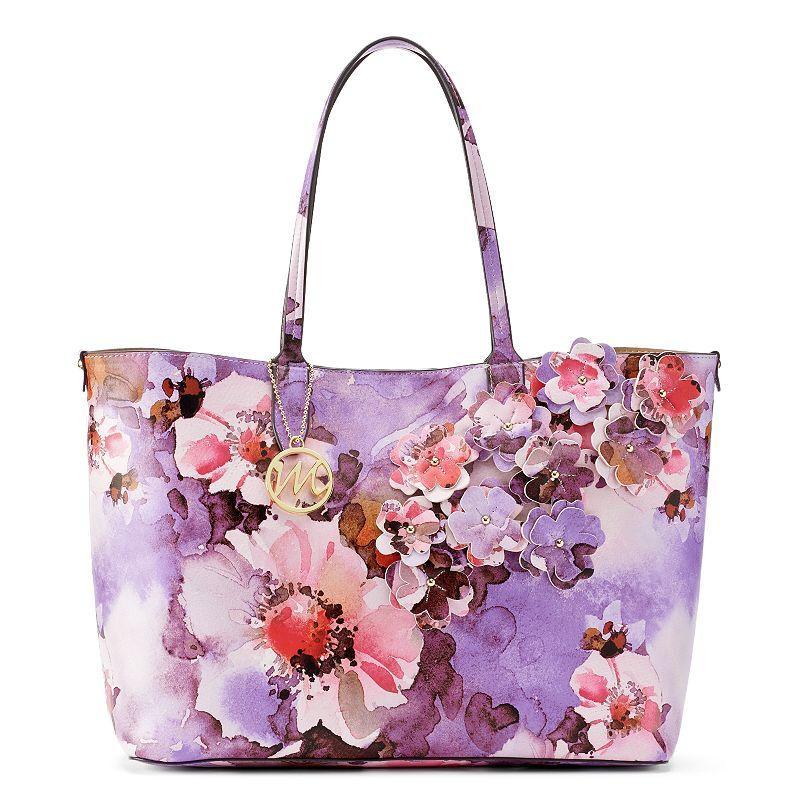Mondani Rebecca 3-D Floral Tote