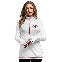 Women's Kansas City Chiefs Majestic Red Lead Play Raglan Long Sleeve T-Shirt