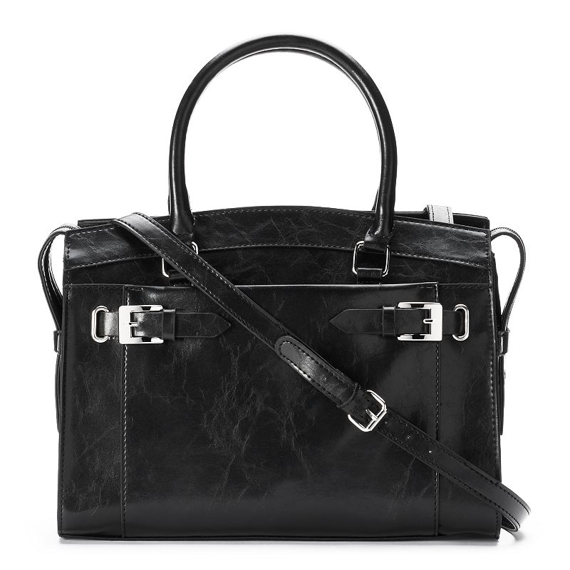 Mondani Jenna Buckled Convertible Satchel