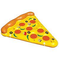 Swimline Giant Inflatable Pizza Slice Pool Raft