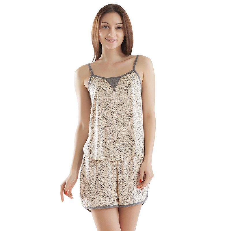 Women's INK+IVY Pajamas: Pedra Tank & Shorts Pajama Set
