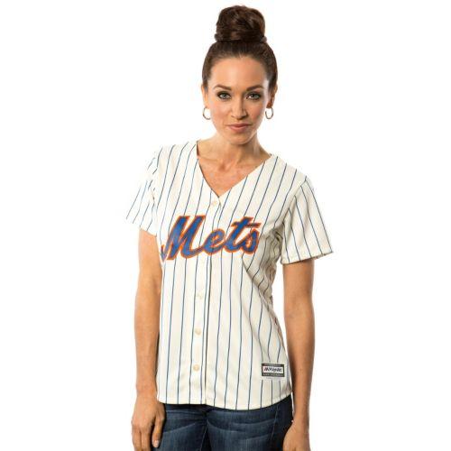 Women's Majestic New York Mets Cool Base Replica Jersey