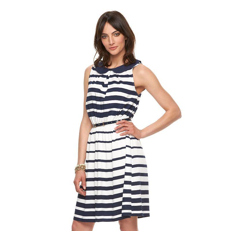 Women's ELLE™ Print Fit & Flare Dress