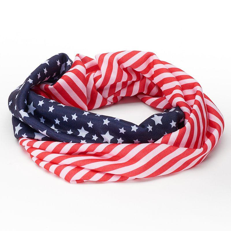 Stars & Stripes Head Wrap