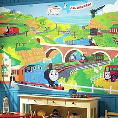 Thomas the Tank Engine Removable Wallpaper Mural by