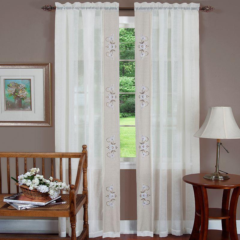 Hamilton Semi-Sheer Curtain