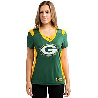 Women's Majestic Green Bay Packers Draft Me Tee