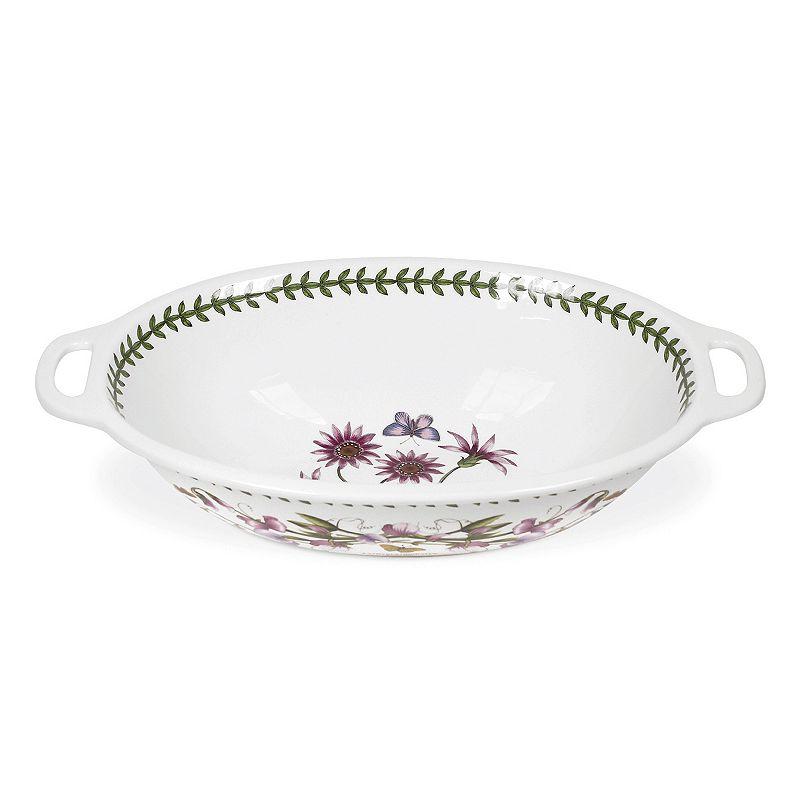 Portmeirion Botanic Garden Oval Handled Bowl