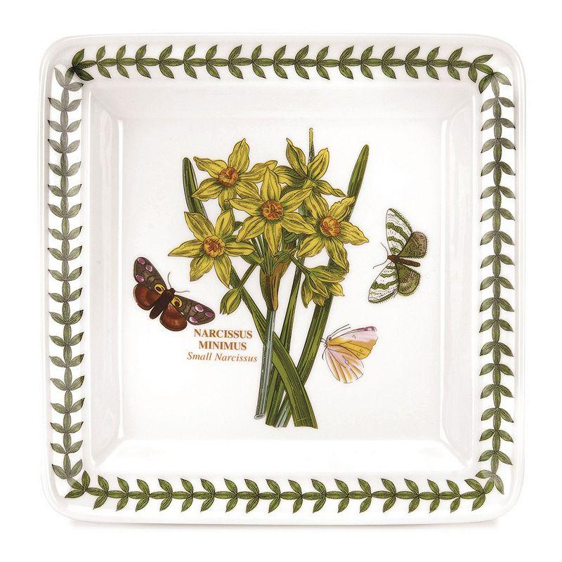 Portmeirion Botanic Garden 6-pc. Square Bread & Butter Plate Set