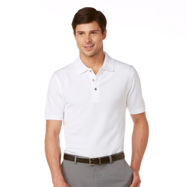 Men's Grand Slam Slim-Fit Pebble Performance Polo