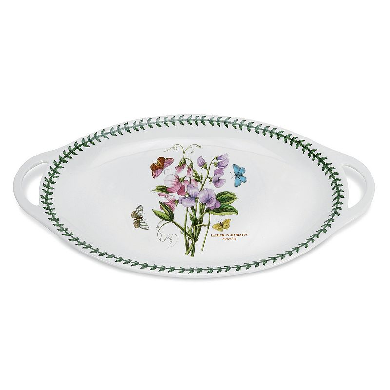 Portmeirion Botanic Garden 18-in. Oval Serving Platter