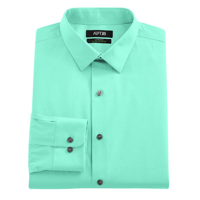 Aqua Long Sleeve Dress Shirt Kohl 39 S