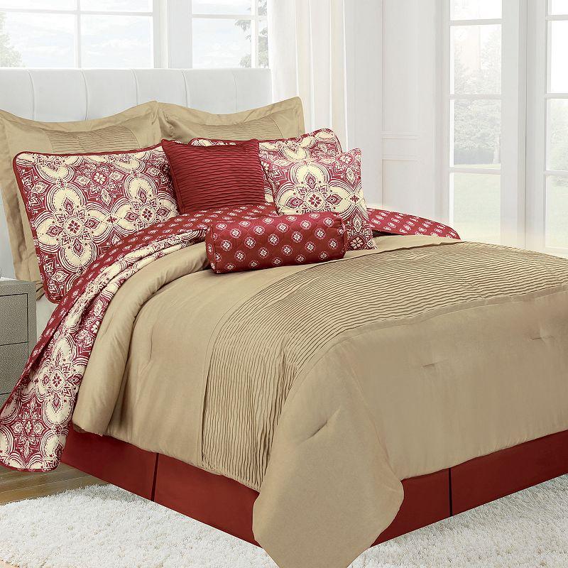 Patina Microfiber 10-piece Bed Set