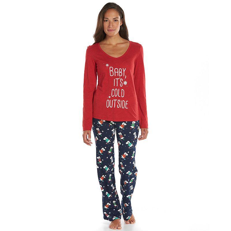 Women's Star & Skye Pajamas: Thermal Pajama Set