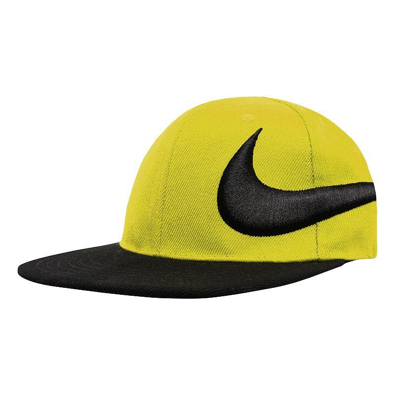 Boys Nike Big Swoosh Flat-Brim Cap