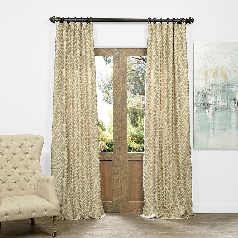 Living Room Rod Pocket Curtain