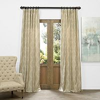 EFF Marquise Diamond Faux Silk Jacquard Curtain
