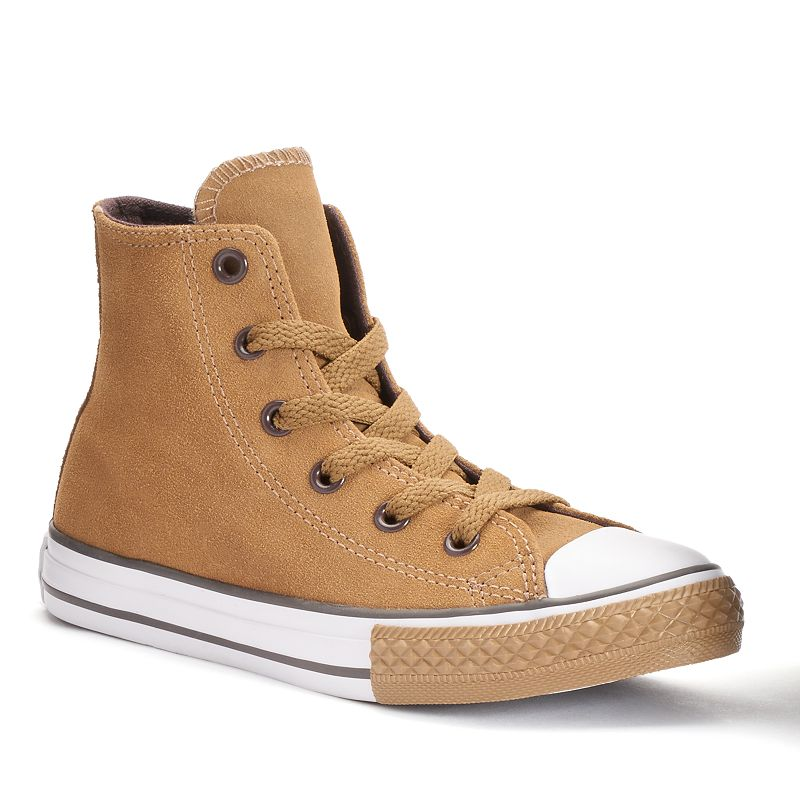 Converse Chuck Taylor All Star Boys' Suede High-Top Sneakers