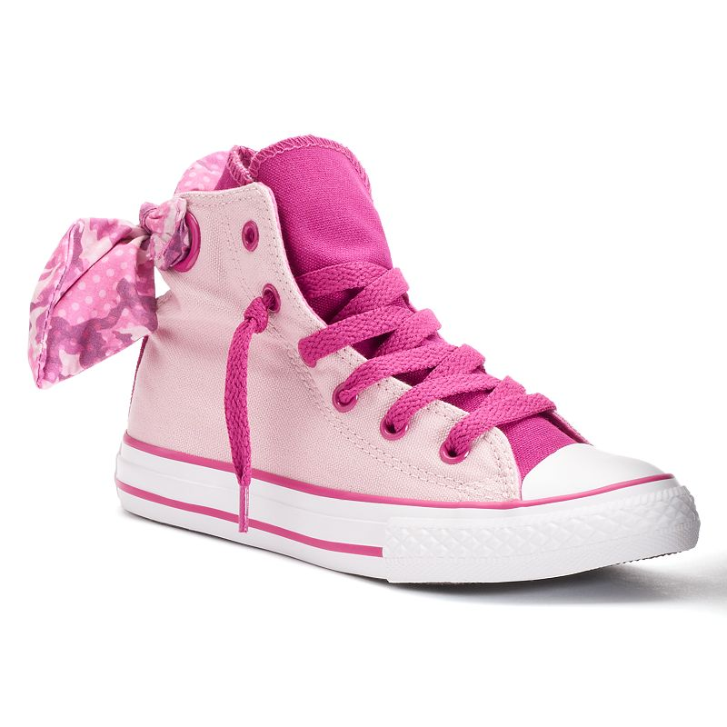 Converse Chuck Taylor All Star Girls' Bow-Back High-Top Sneakers