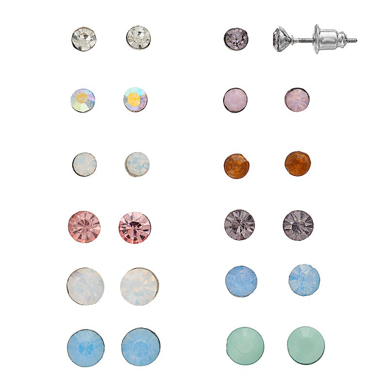Mudd® Multicolor Stud Earring Set