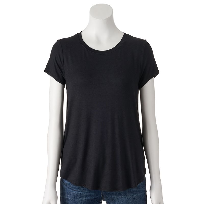 Petite Apt. 9® Essential High-Low Tunic Tee