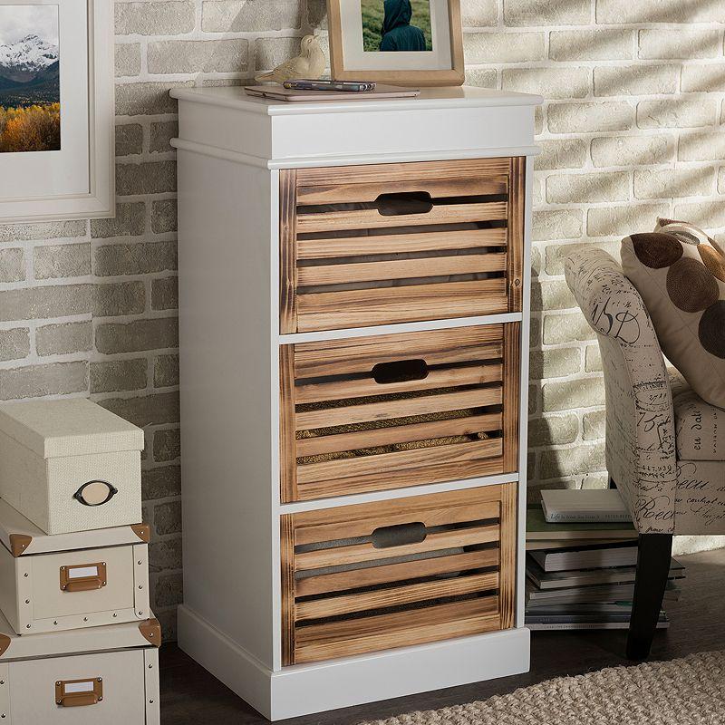 Baxton Studio Rochefort Storage Cabinet