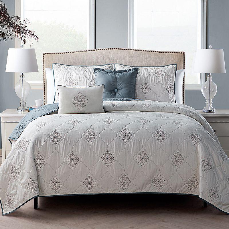 VCNY Home Carolina 5-piece Quilt Set