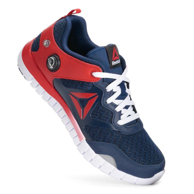 Reebok ZPump Instinct Boys' Running Shoes, Size: medium (7), Multicolor thumbnail