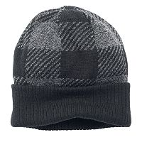 Men's Urban Pipeline Buffalo Check Beanie