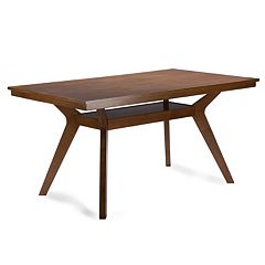 Baxton Studio Montreal Mid-century Dining Table by