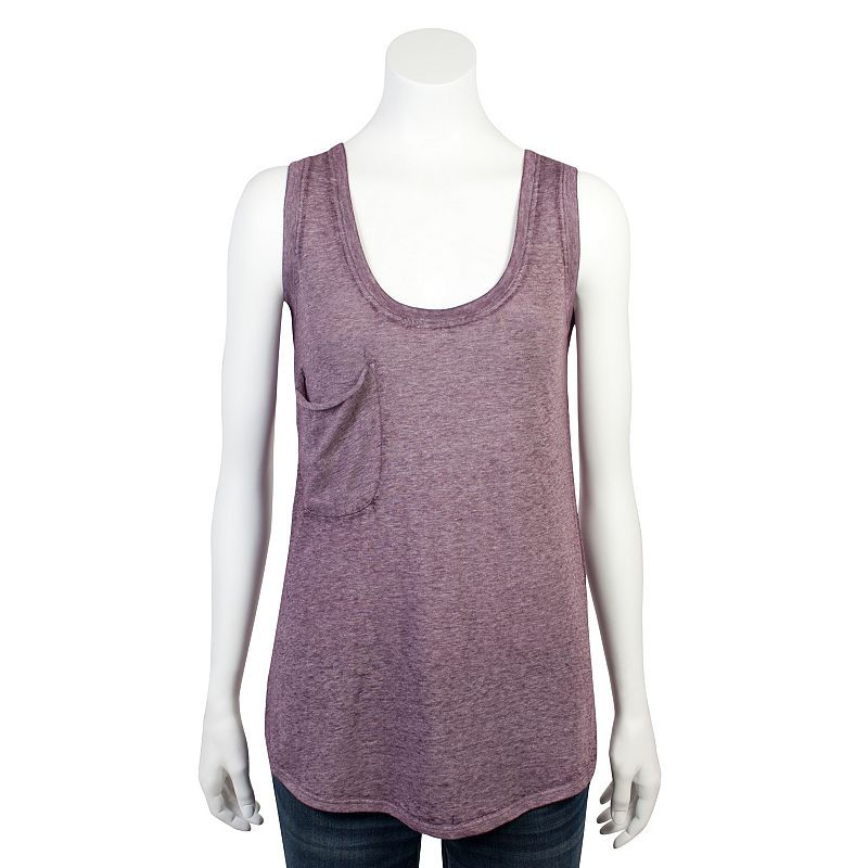 Juniors' Grayson Threads Burnout Tank Top