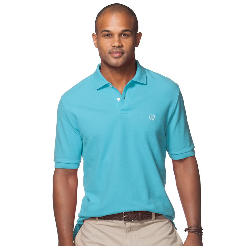 Men's Chaps Classic-Fit Solid Pique Polo