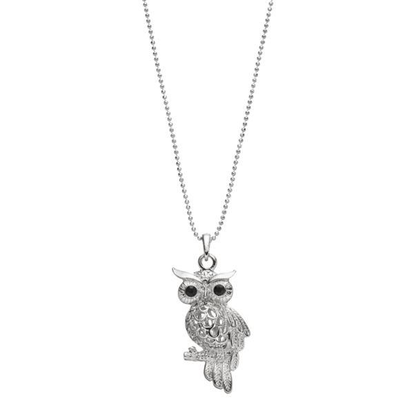 Mudd® Owl Pendant Necklace
