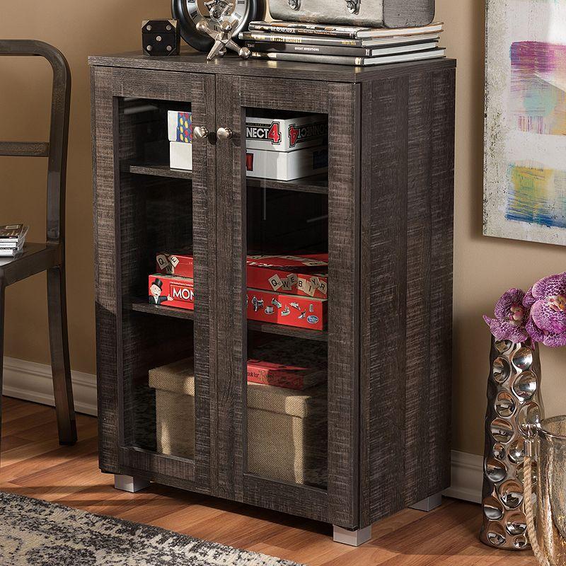 Baxton Studio Mason Sideboard Storage Cabinet