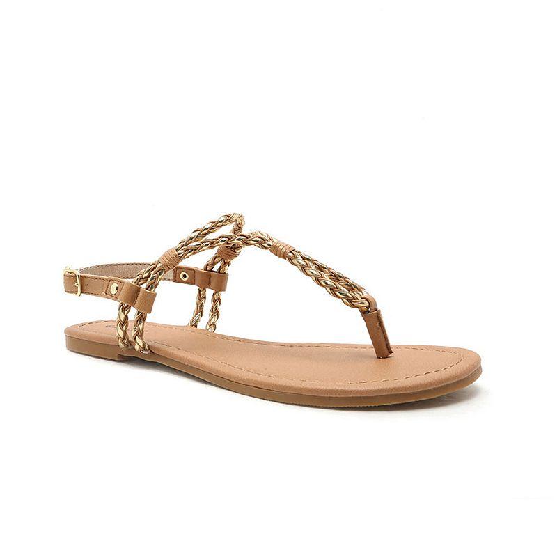 Qupid Archer Women's Braided Sandals