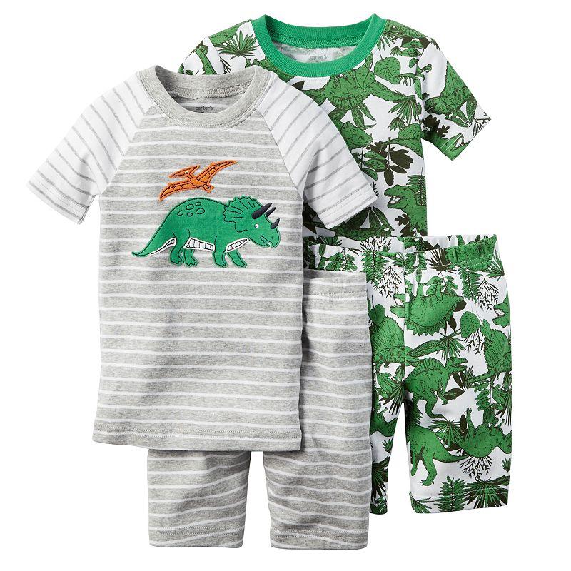 Toddler Boy Carter's 4-pc. Animal Pajama Set