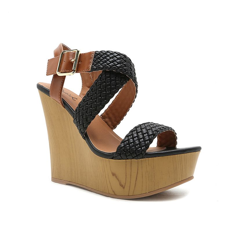 Qupid Kendall Women's Wedge Sandals