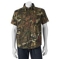 Men's Tallwoods Classic-Fit High-Definition Camo Button-Down Shirt