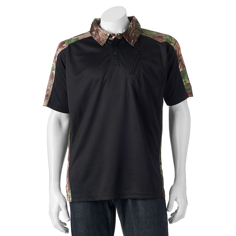 Men's Tallwoods Classic-Fit Camo Colorblock Polo