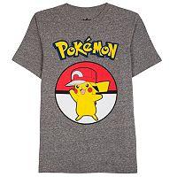 Boys 8-20 Pokemon Tee